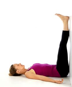 Viparita Karani -The Legs Up The Wall pose