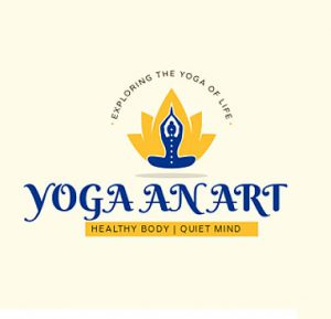 yoga an art logo
